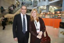 И.А. Орлова и председатель ОП МО Шота Горгадзе
